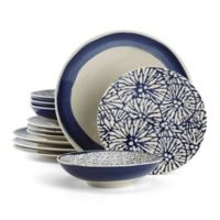 Lenox® Market Place™ Indigo 12-Piece Dinnerware Set