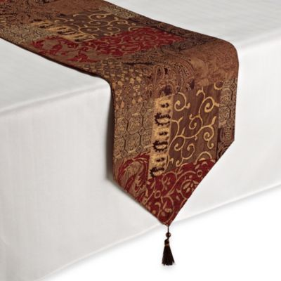 Buy croscill galleria from bed bath beyond for Table runners 52 inches