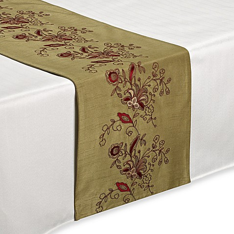 Lilly Sage 72-Inch Table Runner