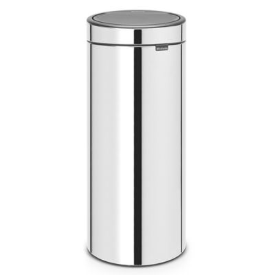 Brabantia® 8 Gallon Touch Trash Can In Brilliant Steel