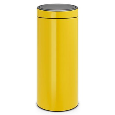 Brabantia® 8 Gallon Touch Trash Can In Daisy Yellow
