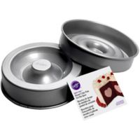 Wilton® Tasty-Fill Heart 2-Piece Cake Pan Set