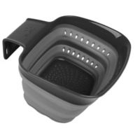 Squish® Over the Sink Arm Colander in Grey