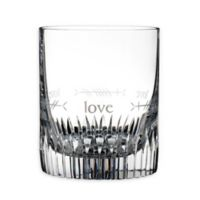 """Waterford® Ogham """"Love"""" Double Old Fashioned Glasses (Set of 2)"""