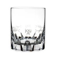 """Waterford® Ogham """"Joy"""" Double Old Fashioned Glasses (Set of 2)"""