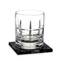 Waterford® Cluin Double Old Fashioned Glasses with Coasters (Set of 2)