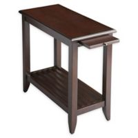 Butler Specialty Company Irvine Chairside Table in Merlot Cherry