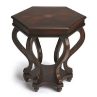 Butler Specialty Company Margaret Accent Table in Plantation Cherry