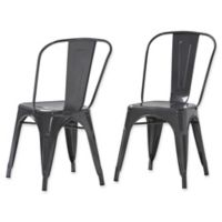 Simpli Home™ Dining Chairs in Grey (Set of 2)
