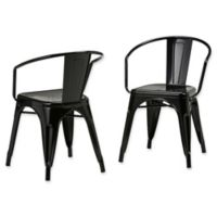 Simpli Home™ Dining Chairs in Black (Set of 2)