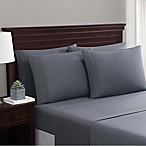 Truly Soft Everyday Cotton Blend 6-Piece Queen Sheet Set in Dark Grey