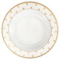 Q Squared Moonbeam Dots 10.5-Inch Round Pasta Bowl in Gold (Set of 4)