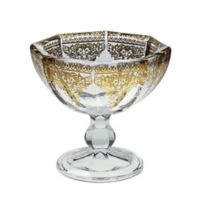 Classic Touch Vivid Footed Dessert Bowls (Set of 6)