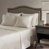 Madison Park Hotel 800-Thread-Count Cotton Blend Queen Sheet Set in Ivory