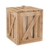 Artland® Mixology Ice Bucket Crate with Lid and Metal Scoop