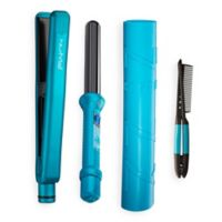 NuMe® 6-Piece Power Couple Styling Tool Set in Turquoise