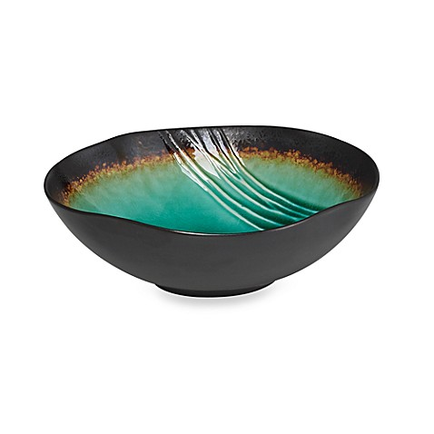 Baum Galaxy 8-Inch Serving Bowl in Jade