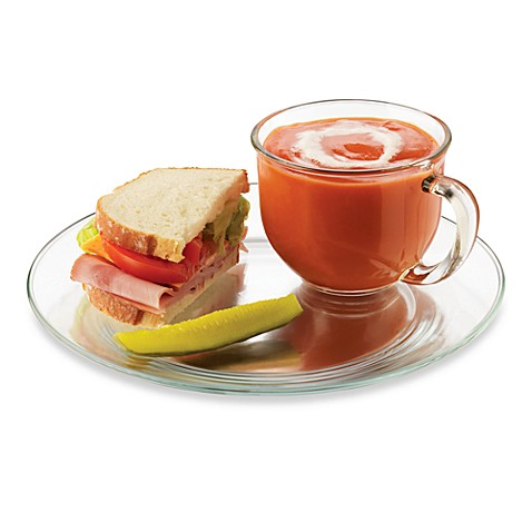 Soup N Sandwich Plate and Mug 8-Piece Set  sc 1 st  Bed Bath \u0026 Beyond & Soup N Sandwich Plate and Mug 8-Piece Set - Bed Bath \u0026 Beyond