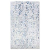 Couristan® Kingsbury 9'2 x 12'5 Area Rug in Steel Blue/Ivory