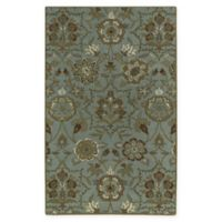 Capel Rugs Garden Terrace 7' x 9' Area Rug in Green