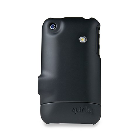 Quirky® Beamer iPhone Case in Black