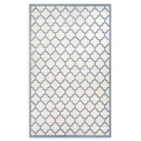 Couristan® Garden Gate 9'2 x 12'9 Power-Loomed Area Rug in Oyster/Slate