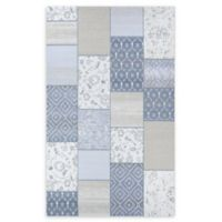 Couristan® Garden Patchwork 9'2 x 12'9 Woven Area Rug in Oyster/Pearl
