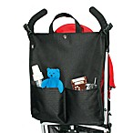 J.L. Childress Black Stroller Tote