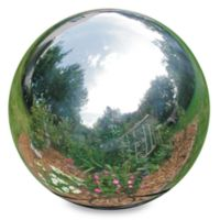 Rome Indusries® 10-Inch Gazing Ball in Stainless Steel
