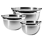 Oggi™ 6-Piece Stainless Steel Mixing Bowl and Lid Set