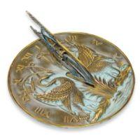 Rome Industries® Swan Sundial in Bronze