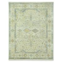 Capel Rugs Biltmore Heritage Shiraz Hand-Knotted 3'6 x 5'6 Rug in Green