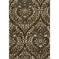 Loloi Rugs Enchant 7'7 Square Loomed Accent Rug in Smoke/Beige
