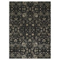 Loloi Rugs Journey Center Medallion 9'2 x 12'2 Area Rug in Black/Silver