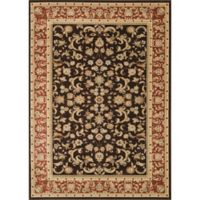 Loloi Rugs Welbourne Floral 11'2 x 14'6 Area Rug in Coffee/Paprika