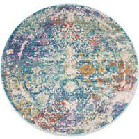 Safavieh Sutton 6' x 6' Ariel Rug in Turquoise