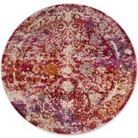 Safavieh Sutton 6' x 6' Ariel Rug in Fuchsia