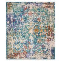 Safavieh Sutton 9' x 13' Ariel Rug in Turquoise