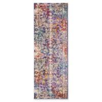 Safavieh Sutton 3' x 10' Ariel Rug in Lavender