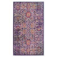 Safavieh Sutton 4' x 6' Molly Rug in Lavender