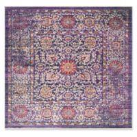 Safavieh Sutton 6' x 6' Molly Rug in Lavender