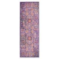 Safavieh Sutton 3' x 10' Molly Rug in Lavender