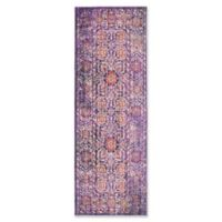 Safavieh Sutton 3' x 12' Molly Rug in Lavender