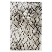 Dynamic Rugs West Side Loft 3' x 5' Area Rug in Silver/Brown