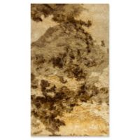 Dynamic Rugs Downtown Loft 3' x 5' Area Rug in Cream/Beige/Brown