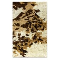 Dynamic Rugs Downtown Loft 5' x 8' Area Rug in Ivory/Beige/Brown