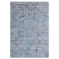 Dynamic Rugs Posh Morocco 2' x 4' Accent Rug in Grey/Blue