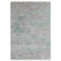 Dynamic Rugs Posh Morocco 2' x 4' Accent Rug in Grey/Green