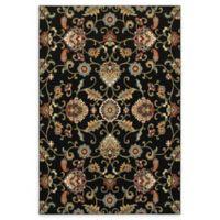 Oriental Weavers Kashan 7'6 Runner in Black