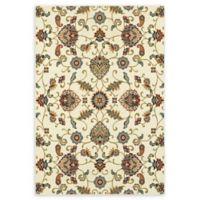 Oriental Weavers Kashan 9'10 x 12'10 Area Rug in Ivory
